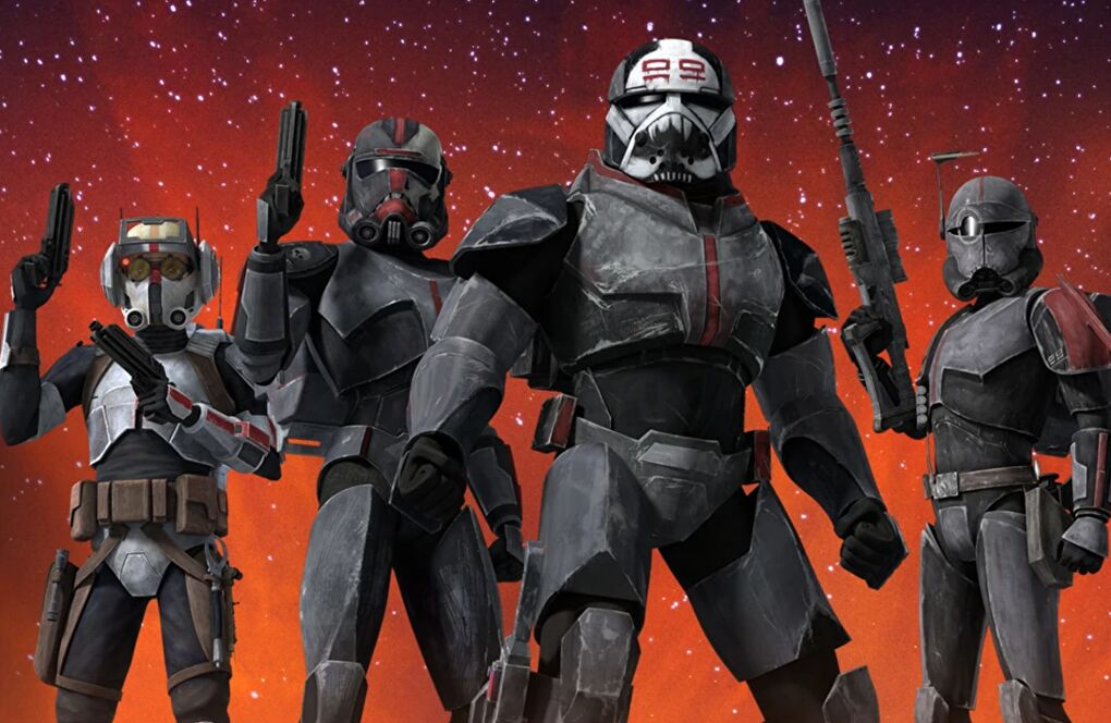 Members of Clone Force 99, courtesy of StarWars.com