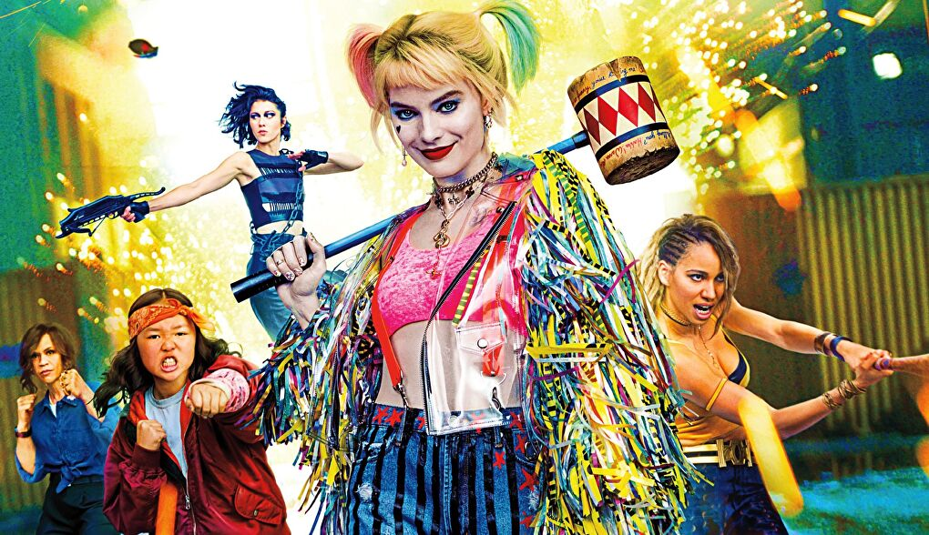 Margot Robbie and the cast of Warner Bros's Birds of Prey