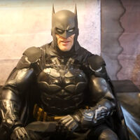 Guinness World Records holder for best Batman cosplay in the world.