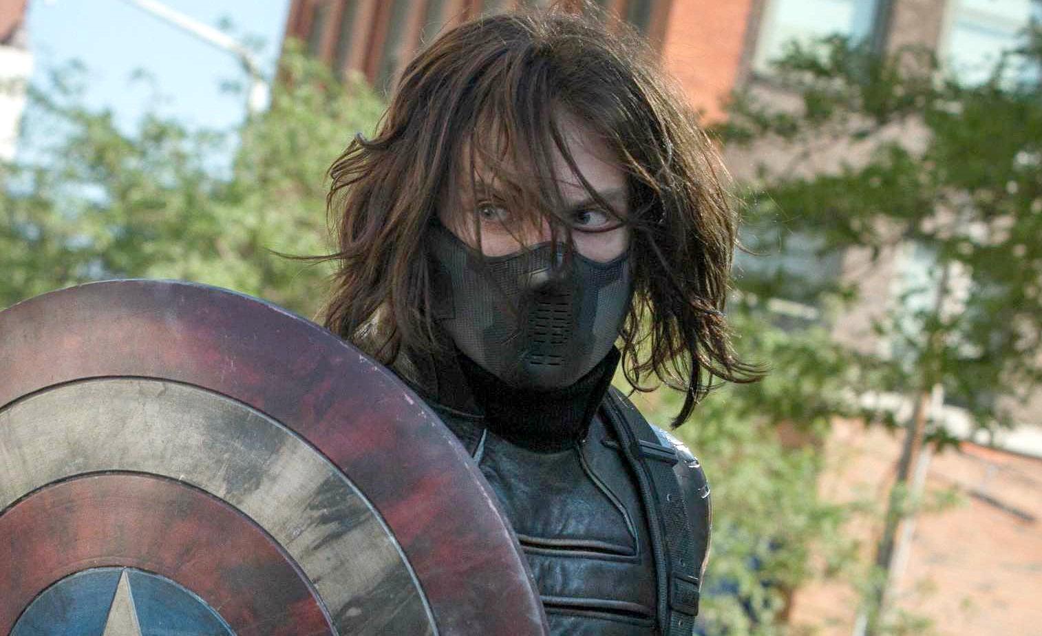Sebastian Stan as Bucky in Marvel's Captain America