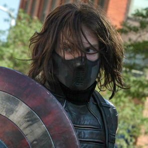 Sebastian Stan as Bucky in Marvel's Captain America
