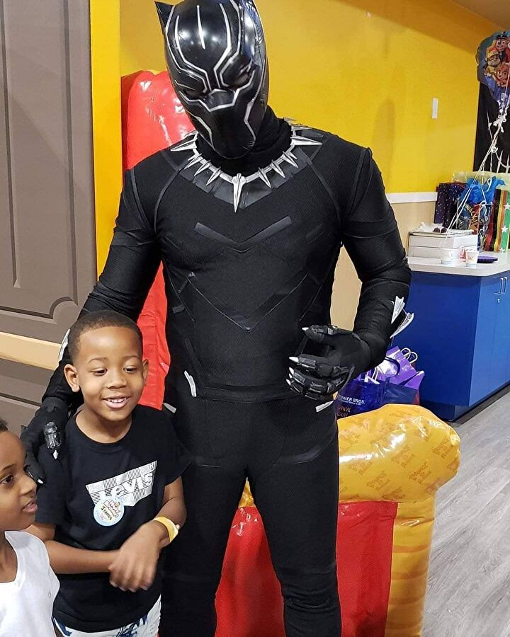 Converse_Ninja as Black Panther