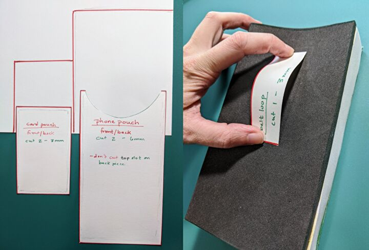 How To Make a Foam Pouch