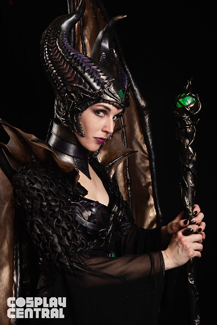 Maleficent Cosplay at C2E2