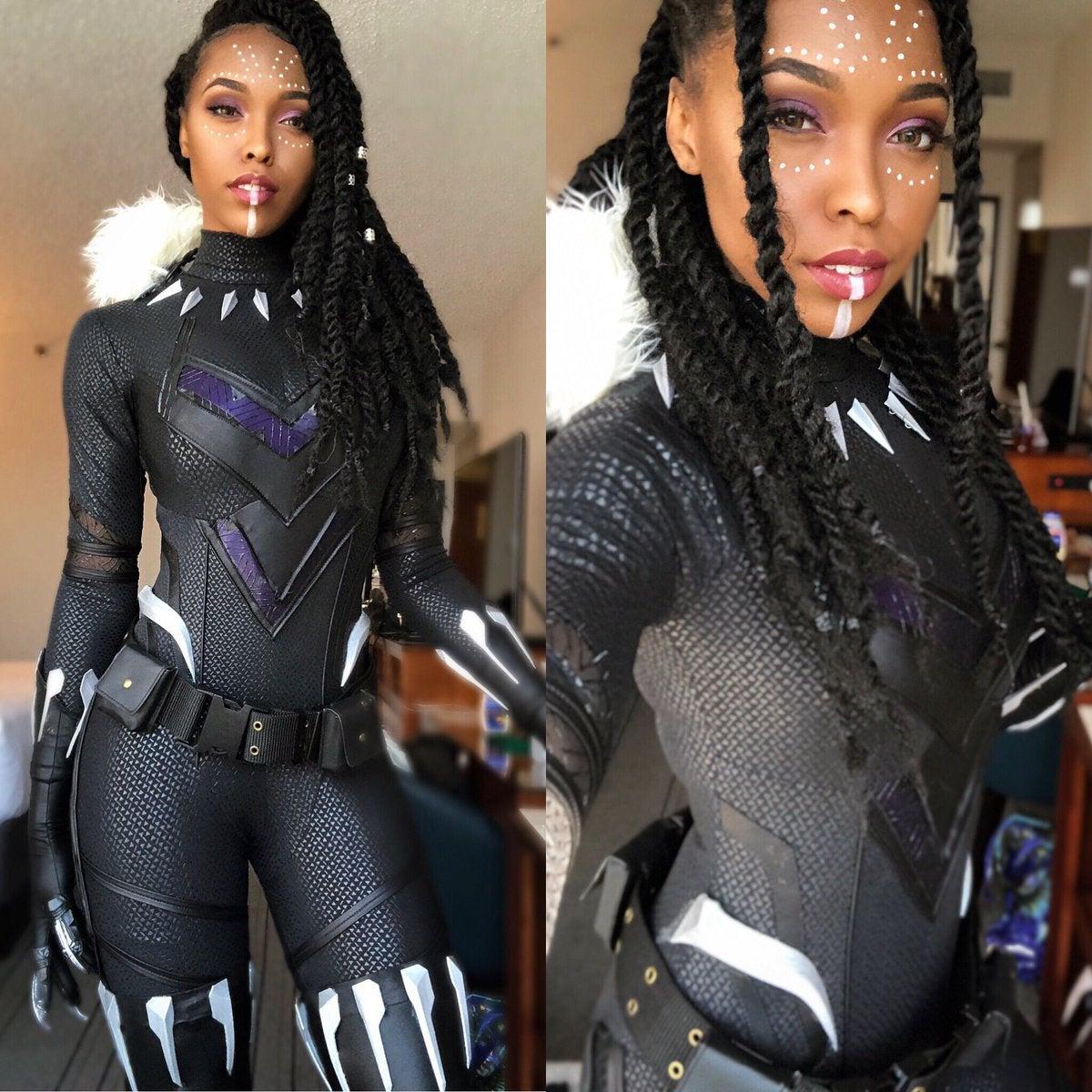 Cutiepiesensei Shuri Black Panther