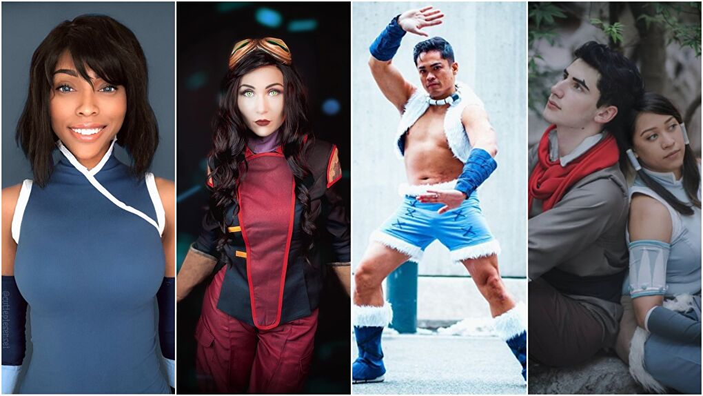 Legend of Korra Cosplays
