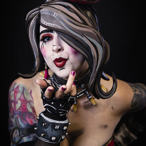 Jessilyn Cupcake's Borderlands cosplay from New York Comic Con 2019