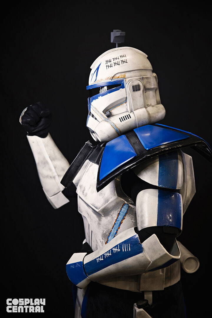 Captain Rex cosplay from New York Comic Con 2019