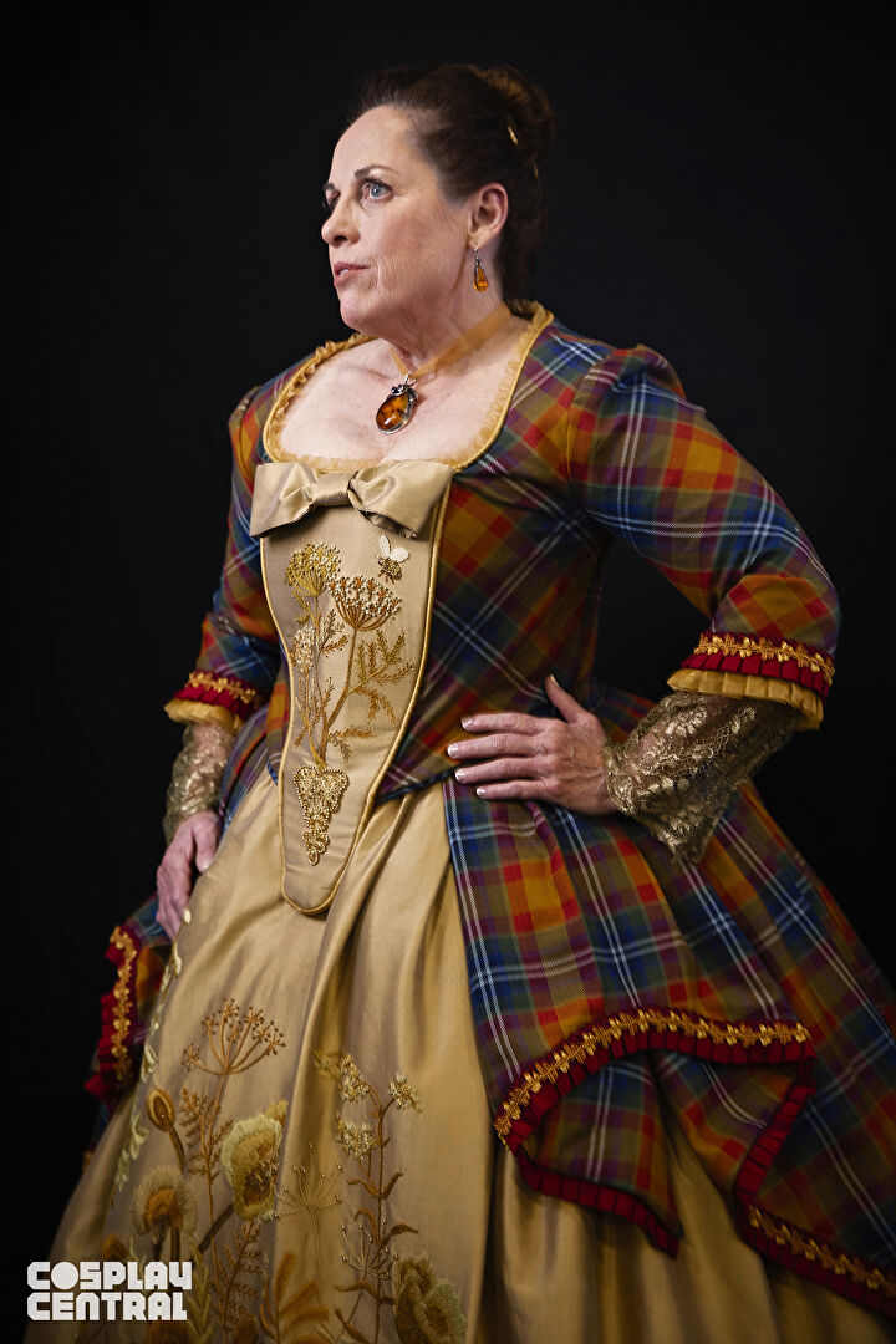 Teri Biglands' Outlander-inspired cosplay