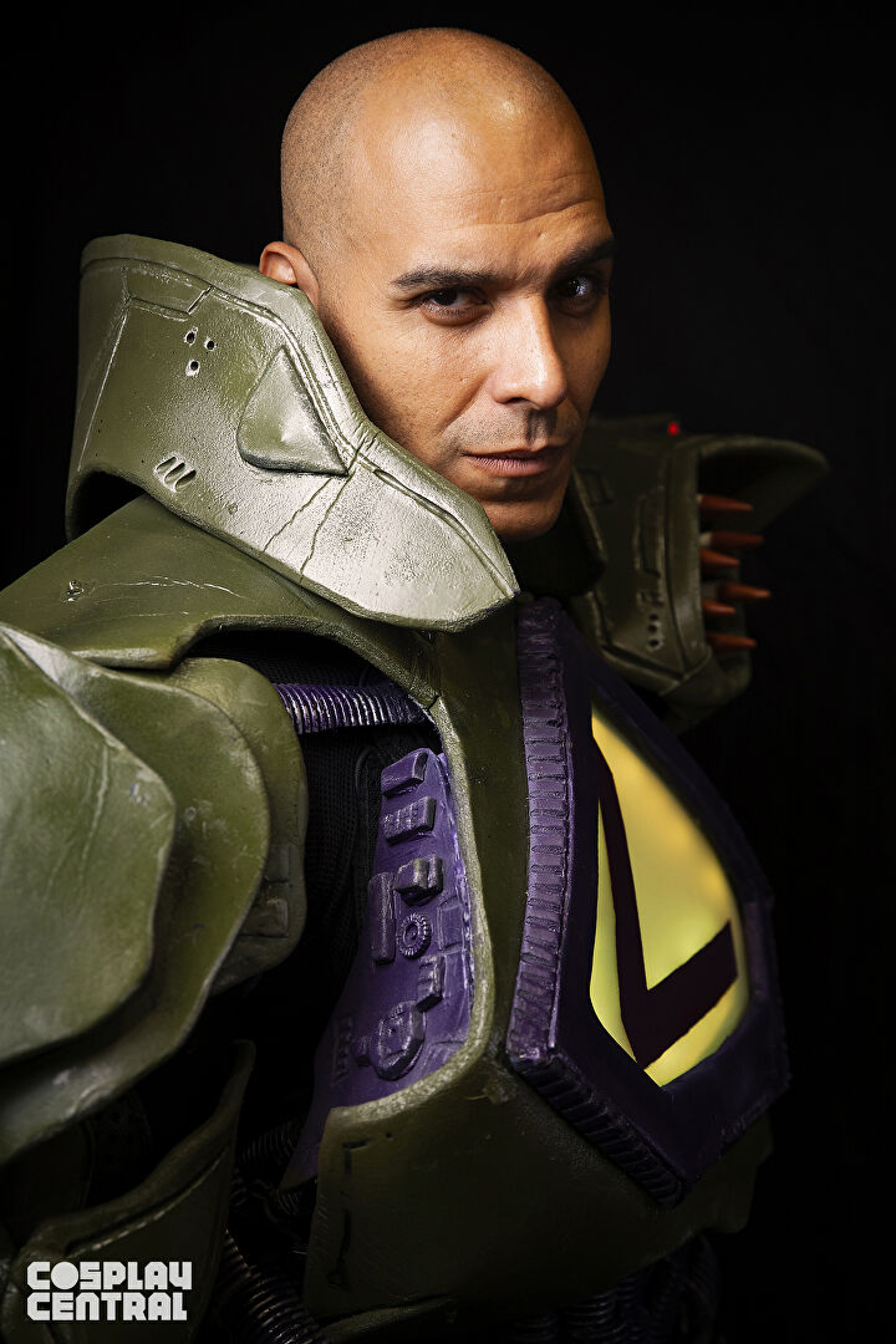 Jamal Johns as Lex Luthor cosplay