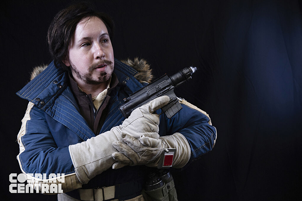 """""""Janiku Cosplay"""" as Captain Cassian Andor from New York Comic Con 2019"""