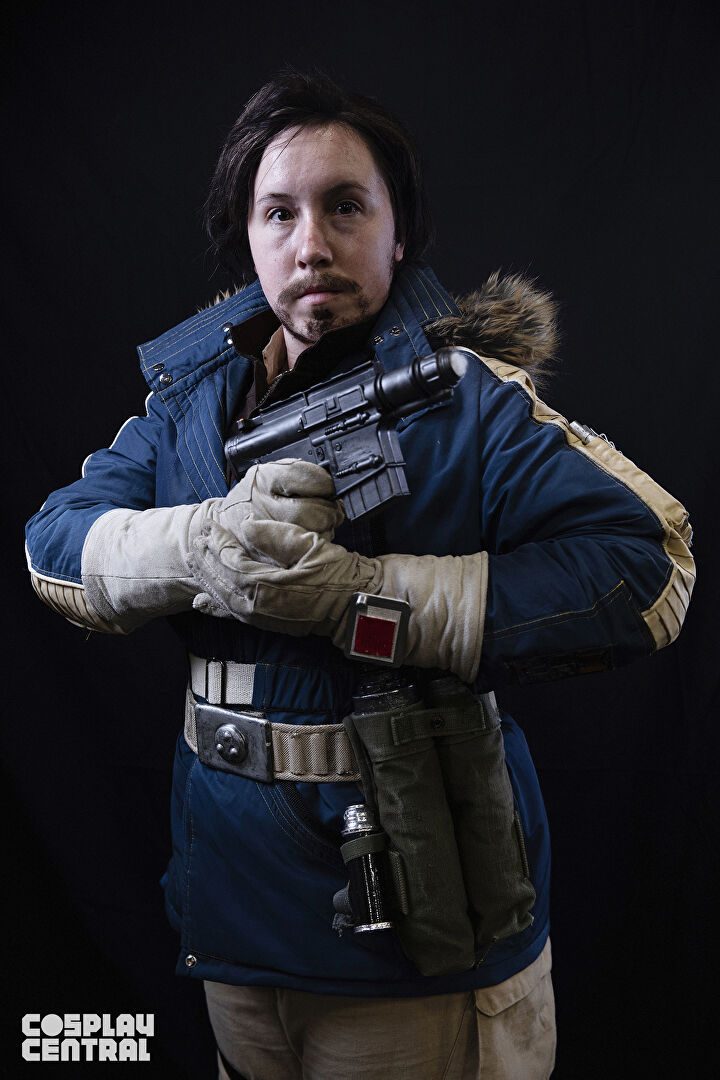 """Janiku Cosplay"" as Captain Cassian Andor from New York Comic Con 2019"