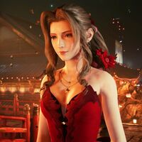 Aerith Cosplay by Briana White (voice actress)