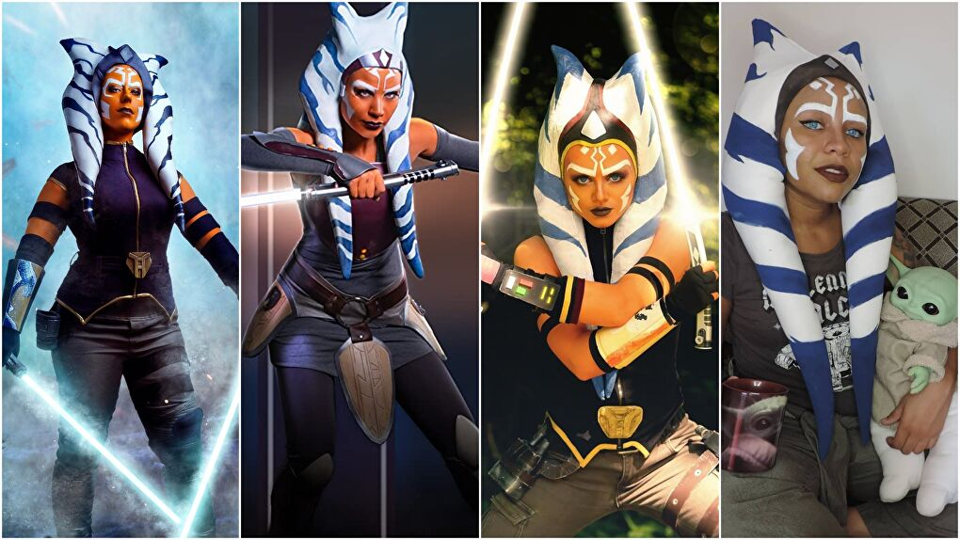 Ahsoka Cosplayers - The Mandalorian, Rebels, and Clone Wars