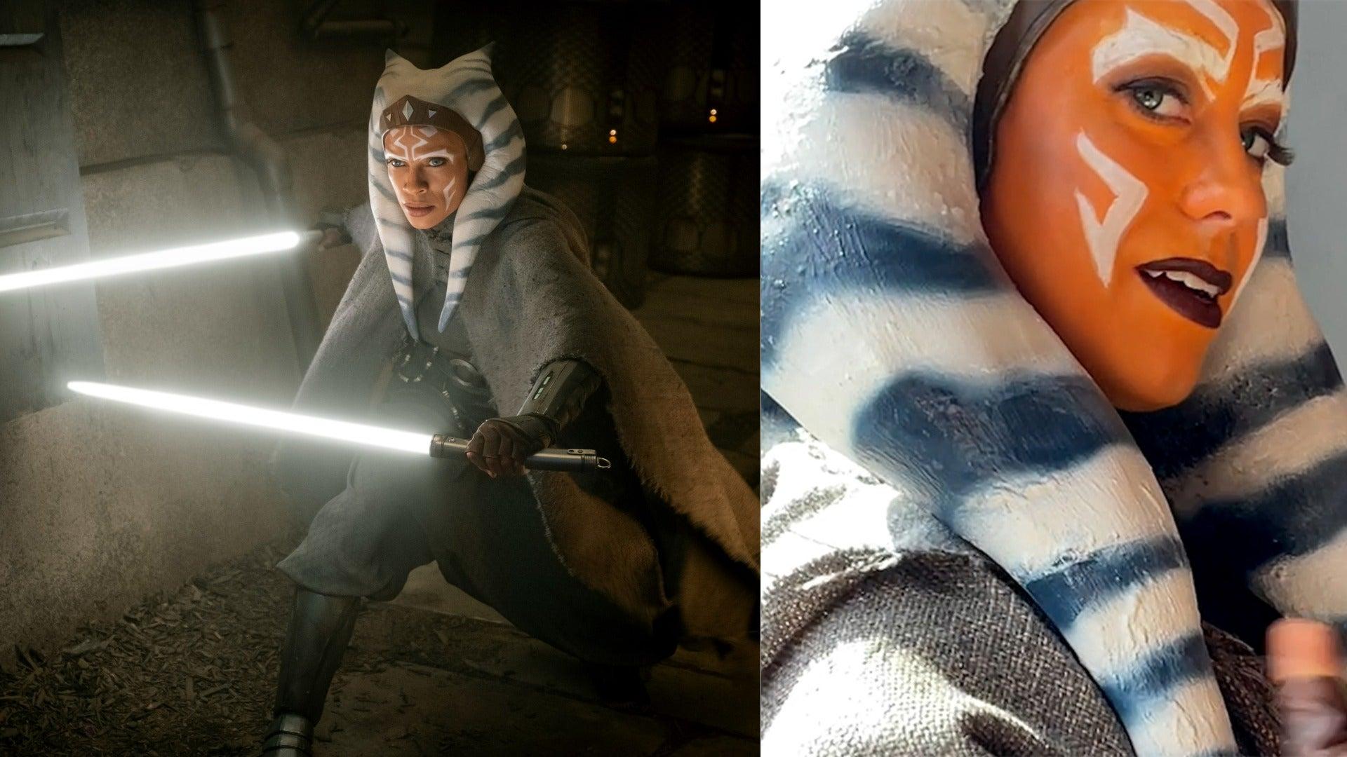 Jedimanda as Star Wars character Ahsoka Tano