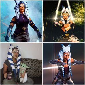 Ahsoka Cosplayers - The Mandalorian, Rebels, and Clone Wars