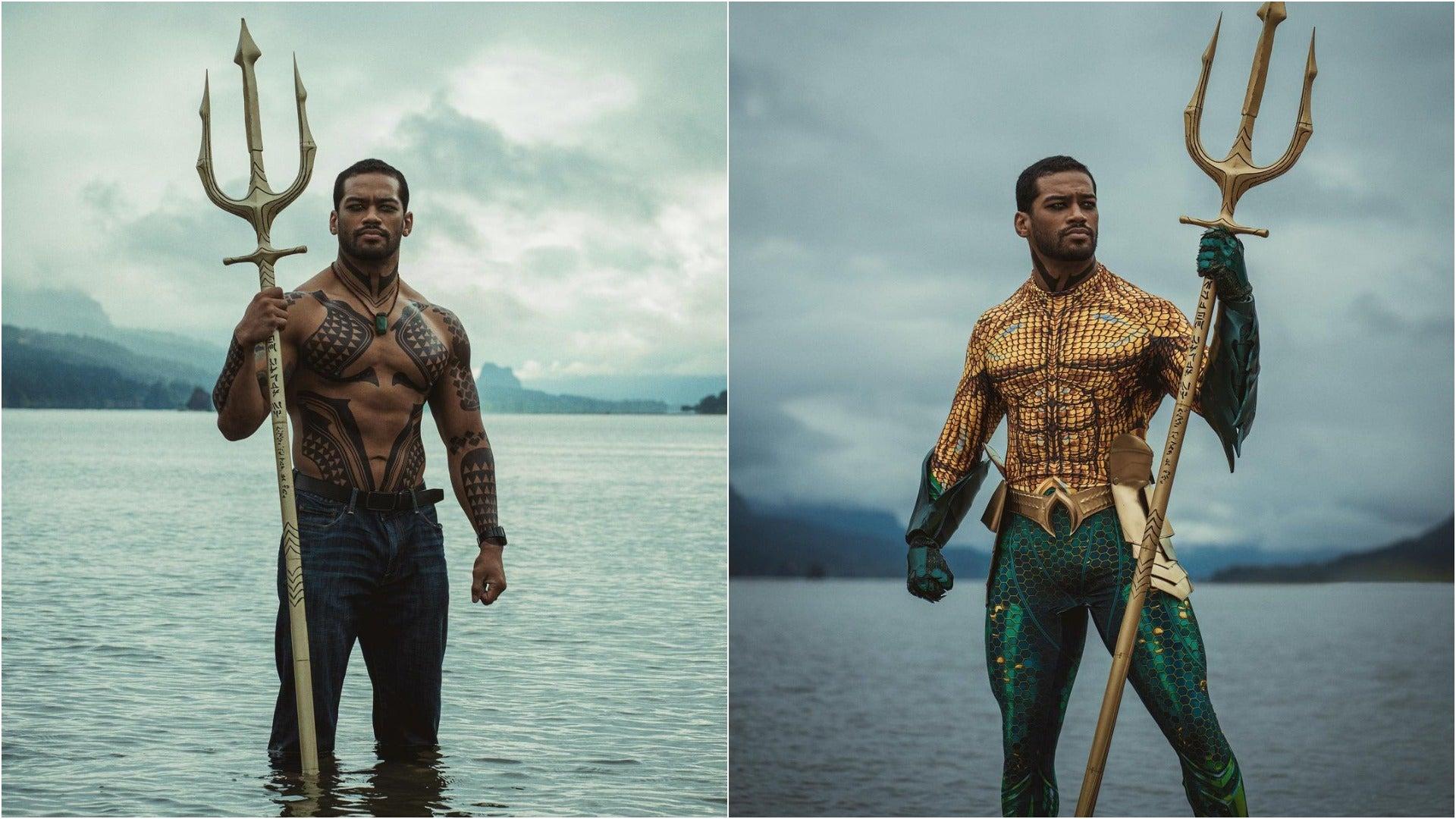Aquaman Cosplayer