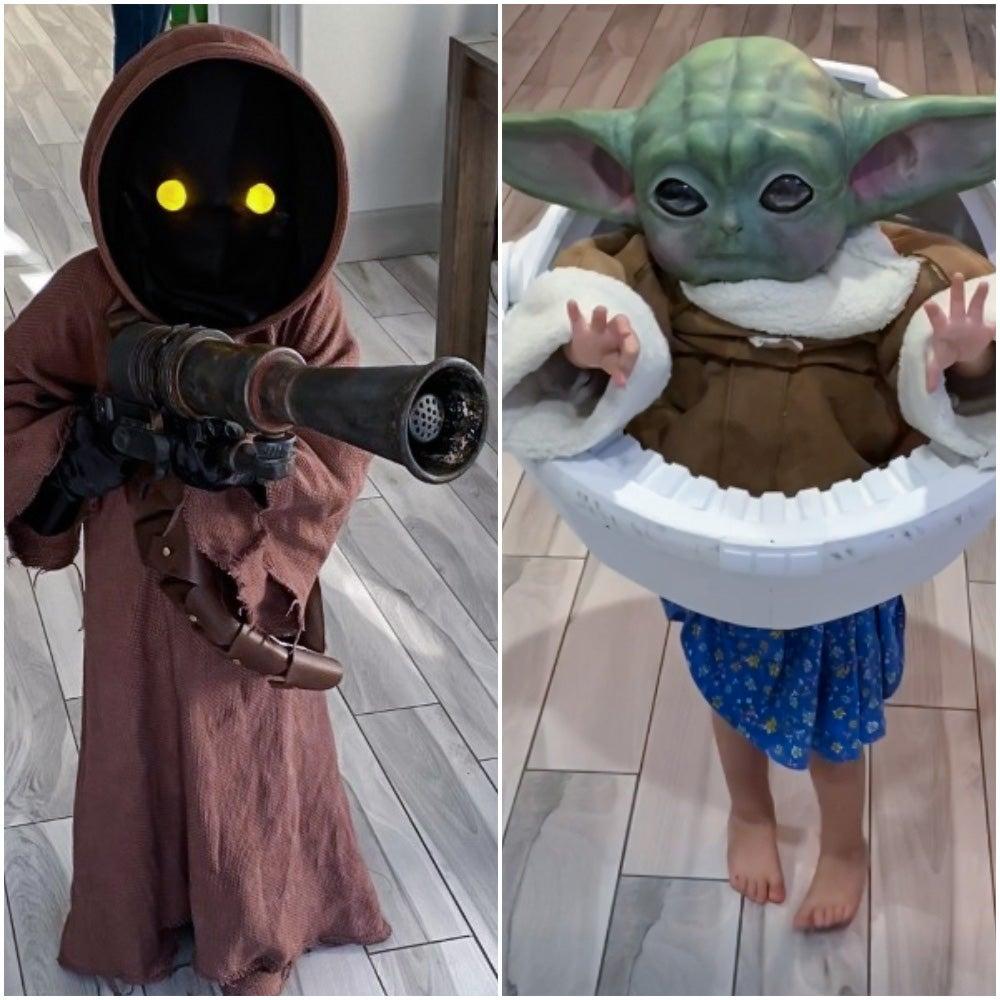 Baby Yoda & Jawa Costumes