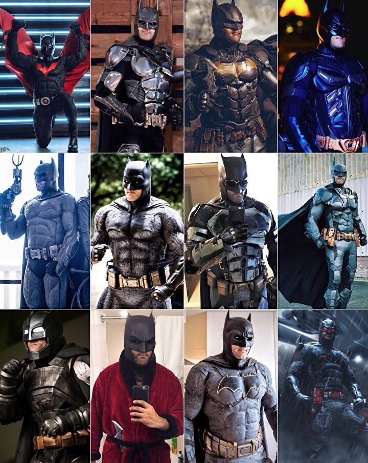 Zack Snyder Justice League Cosplayers