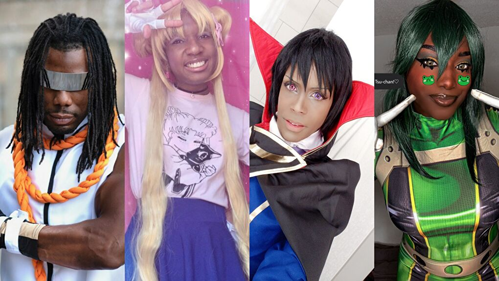 Black Anime Cosplay Feature