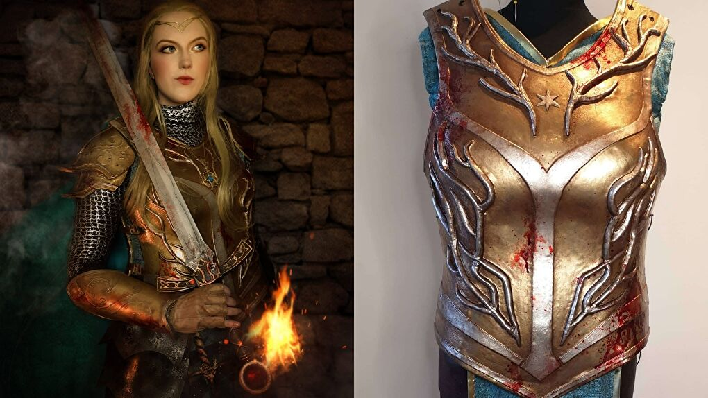 Images Courtesy Amazonian Cosplay (Cosplaying Aelin from the Throne of Glass series)