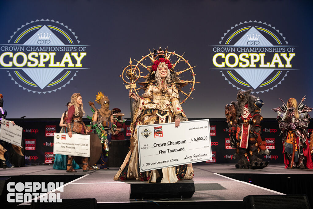 The Crown Championships of Cosplay held at C2E2 2020.