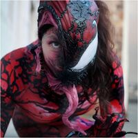 Carnage Cosplay from the new Venom Movie