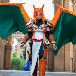 Charizard Cosplay From Pokemon