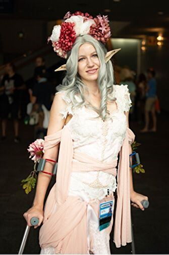 Disability in Cosplay And Cons