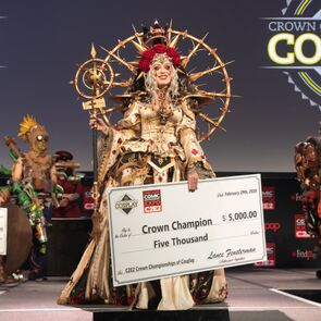 Winner of the Crown Championships of Cosplay at C2E2 2020 (Courtesy Cosplay Central)