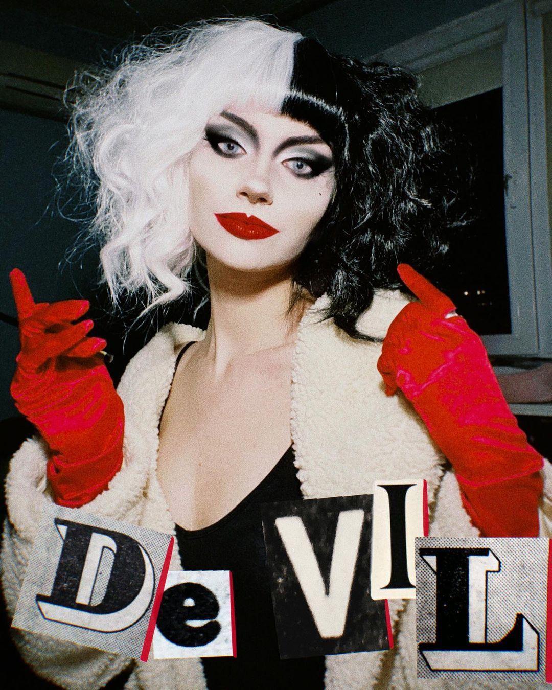 Cruella De Vil Cosplay