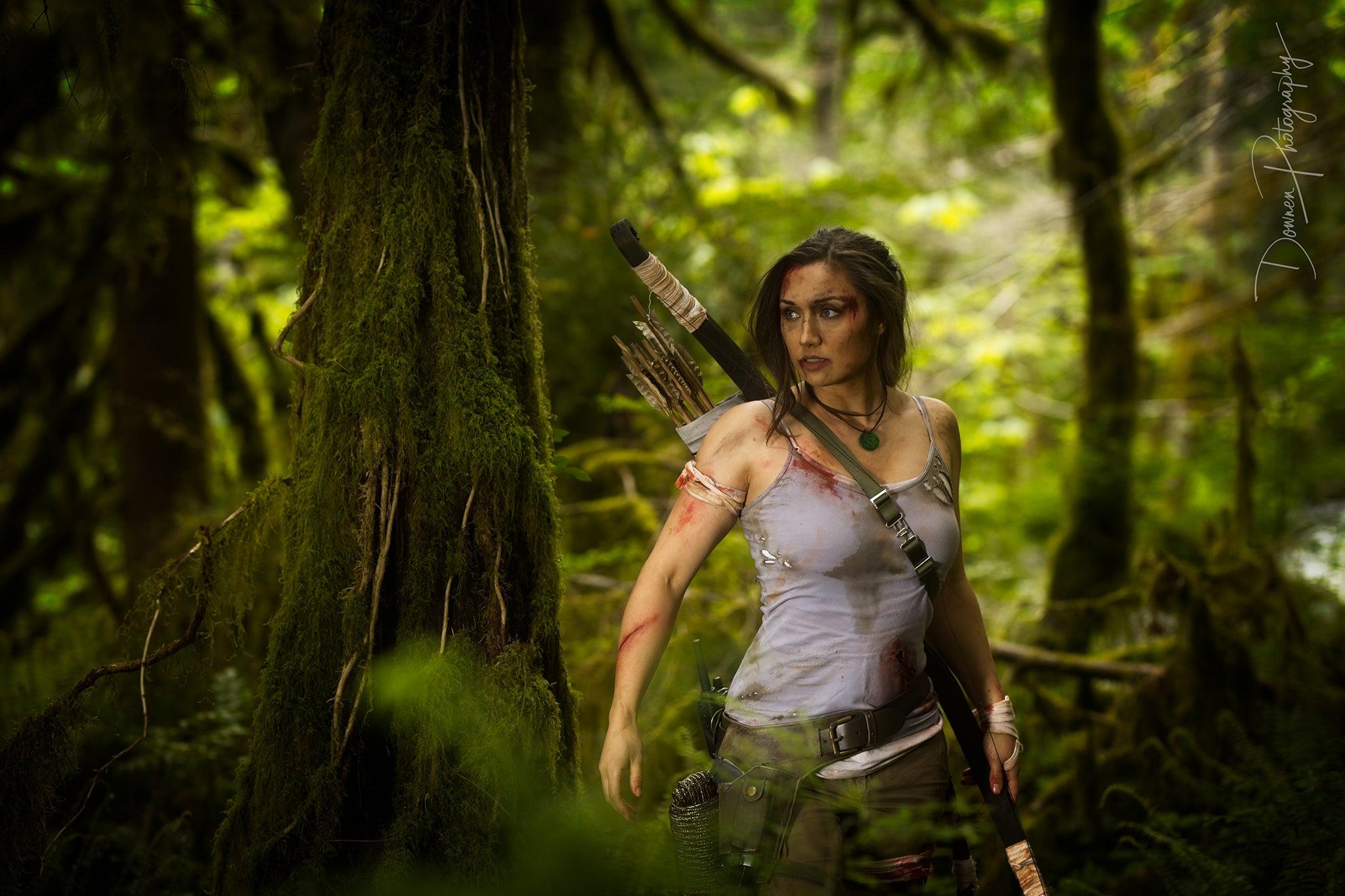 Lara Croft Cosplay Photoshoot