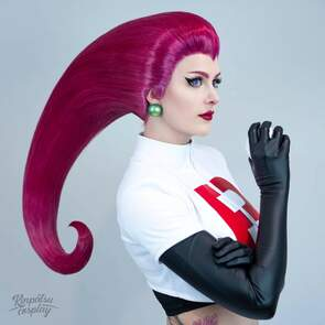 Jessie Cosplay Team Rocket Pokemon