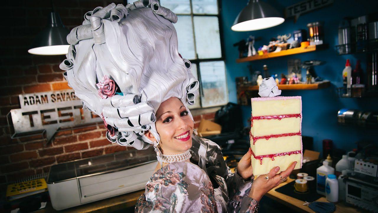 EVA Foam Wig Marie Antoinette