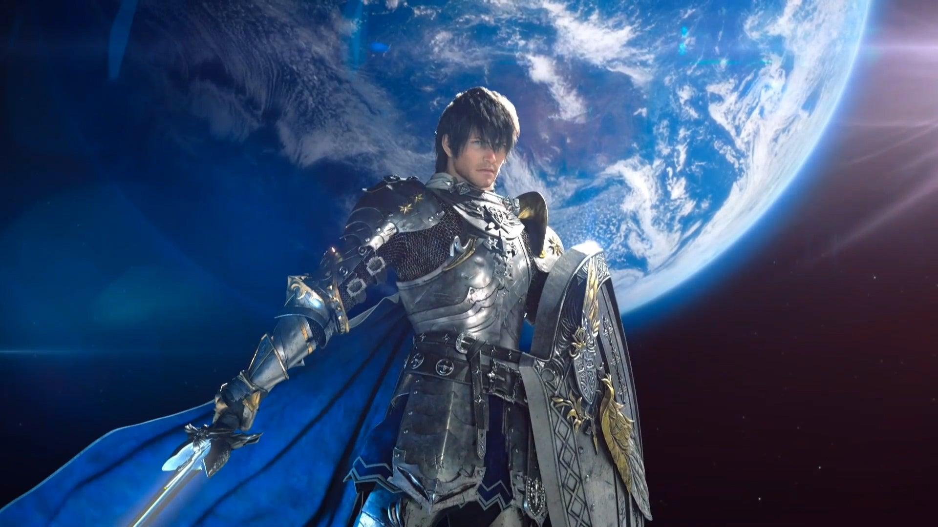 Final Fantasy XIV Paladin From Endwalker