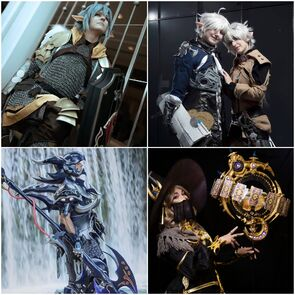 Final Fantasy XIV Cosplays