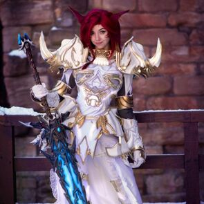 Final Fantasy XIV Dark Knight Cosplay