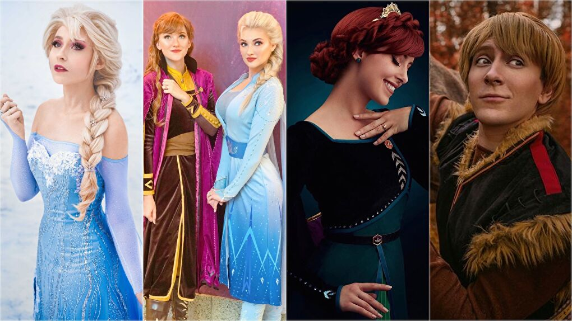 Frozen Cosplays - Elsa Cosplay, Anna Cosplay, Kristoff Cosplay