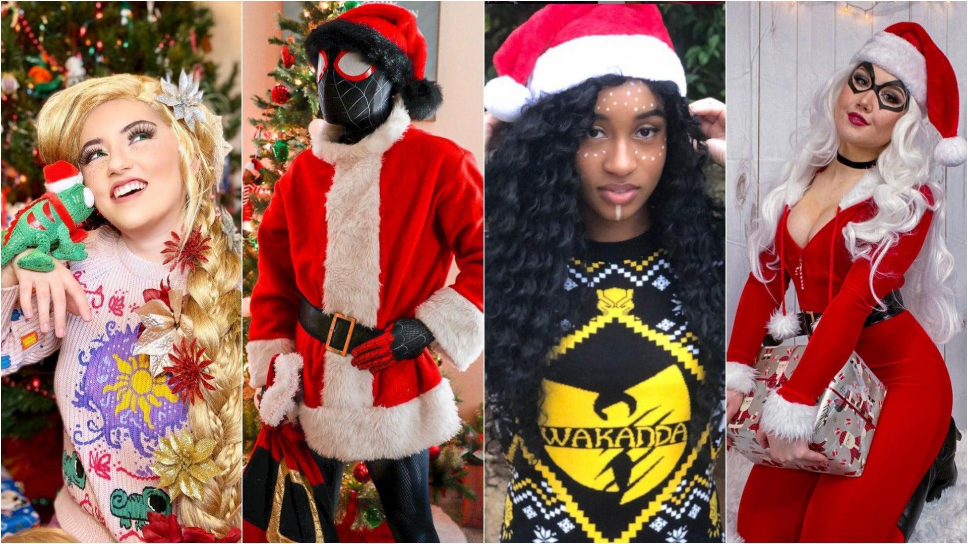 Rapunzel Cosplay, Spider-Man Cosplay, Black Panther Cosplay, Black Cat Cosplay