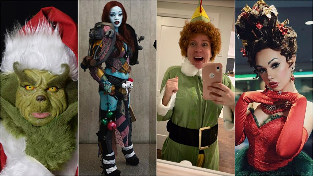 Holiday Movie Cosplays