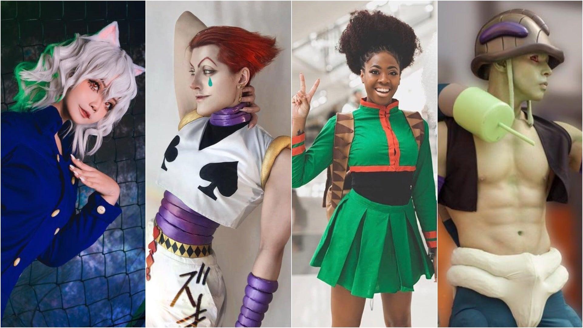 Left to right: Yukaoni_, Villain Lady, Tatted Poodle, Goukicosplay. Photos Courtesy Instagram.