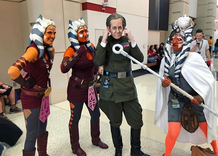 Star Wars The Bad Batch Cosplays