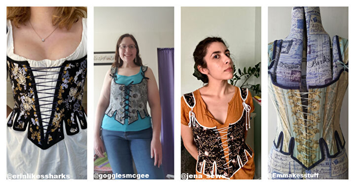 Images Courtesy OurShieldMaiden and the Sew-Along Community