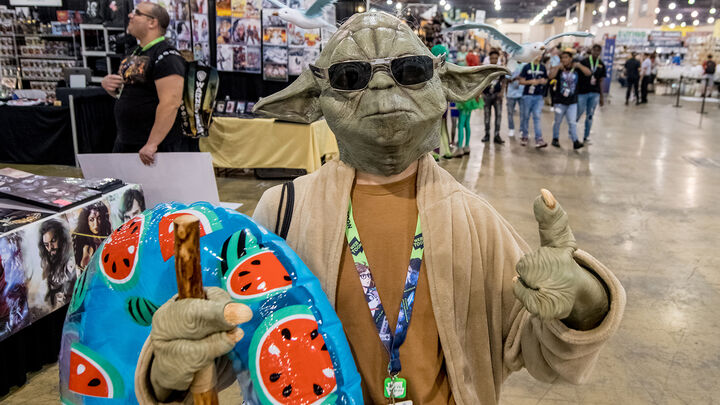 Star Wars cosplay at Keystone Comic Con 2019