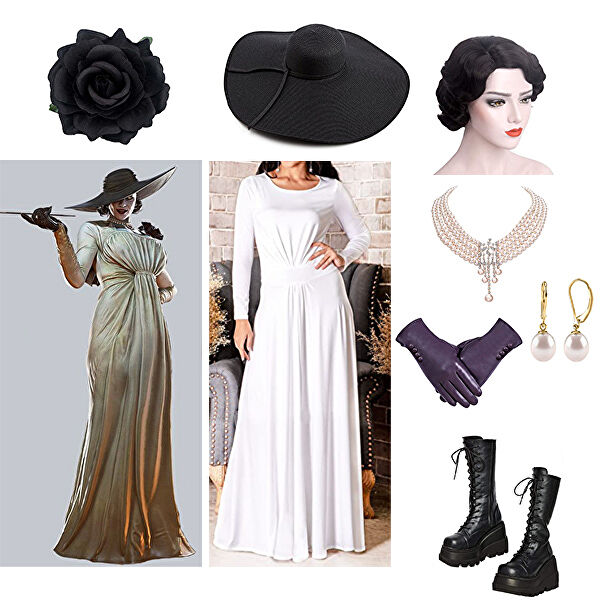 Lady Dimitrescu Inspired Outfit