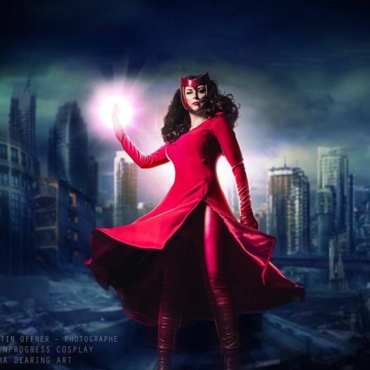 Scarlet Witch Cosplays