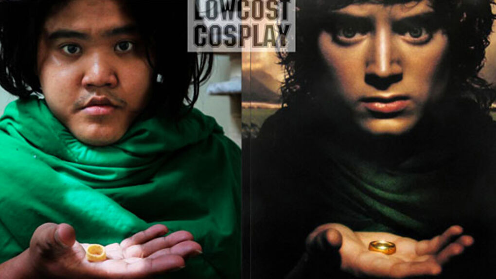 Low Cost Cosplay as Frodo from Lord of the Rings