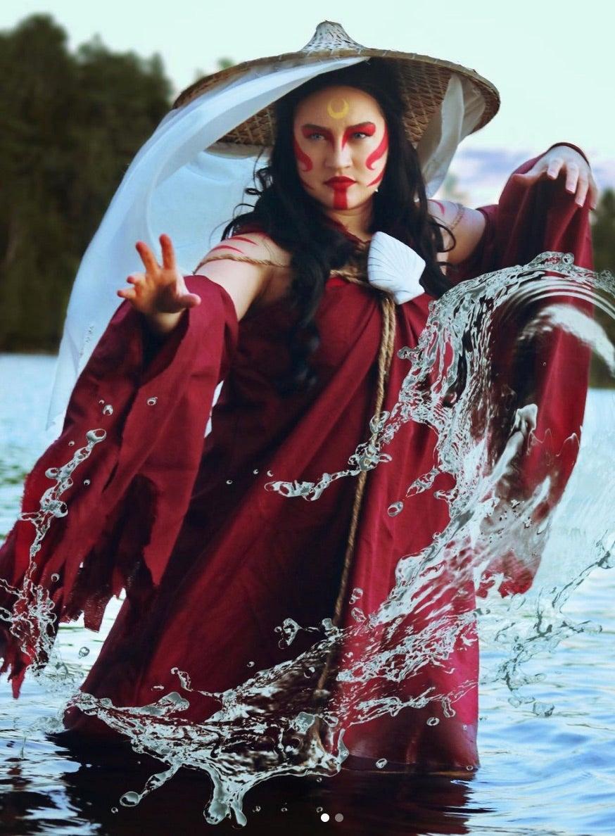 Katara Cosplays Avatar The Last Airbender