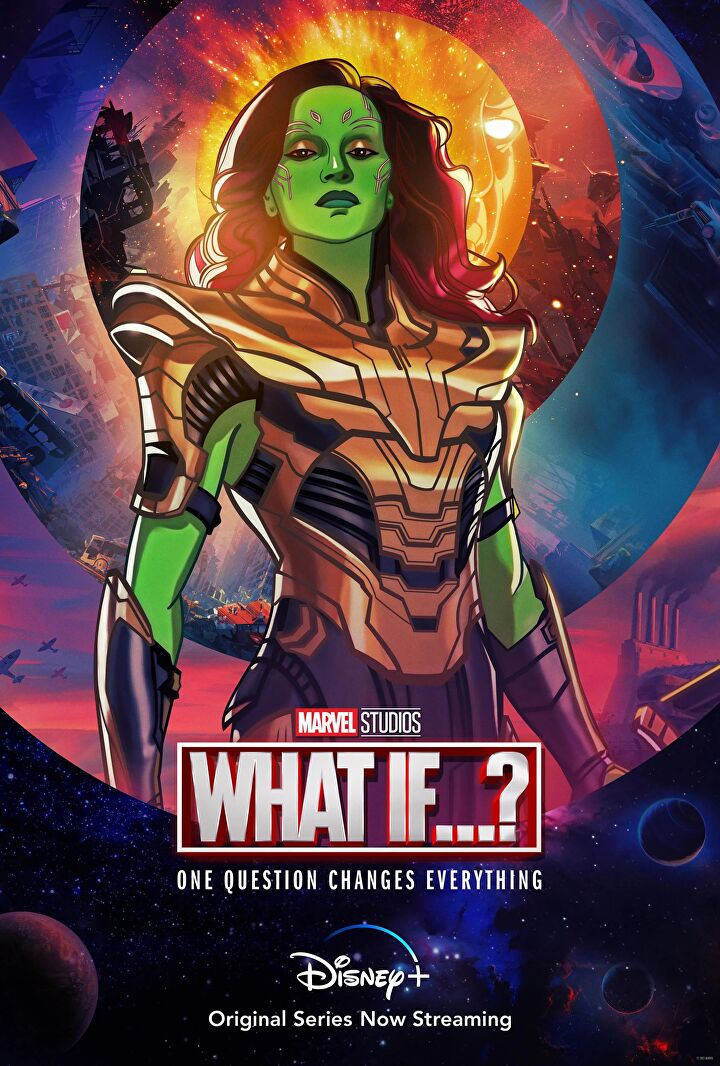 Nebula and Gamora from Marvel's What if