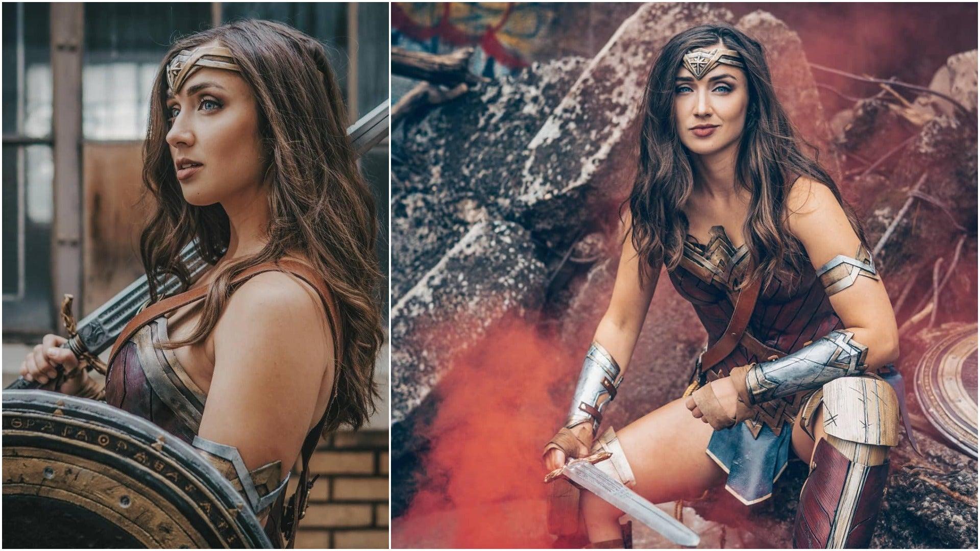 Carma Cosplay in Wonder Woman Cosplay